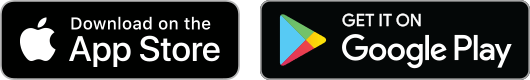 App Store and Google Play logos